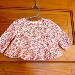 NWT baby gap top, 3-6 months